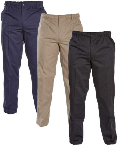 D555 ELASTICATED WAIST TROUSERS
